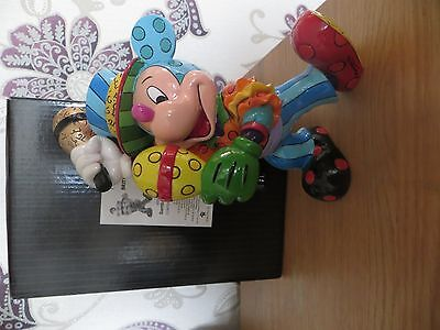 "Disney Britto ""Samba Mickey"" Excellent Condition"
