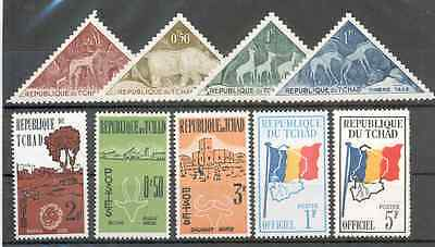 Tchad - Small selection of Stamps MNH**