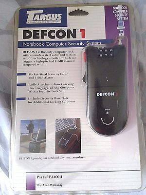 Targus Defcon 1 Notebook Computer Security System New / Sealed