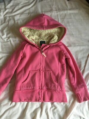 Mini Boden Girls Shaggy Zip-Through: Age 5-6 Years