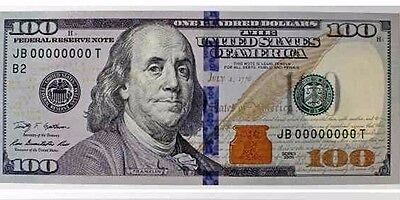 Light Circulated $100 Federal Reserve Note US Currency One Hundred Dollar Bill