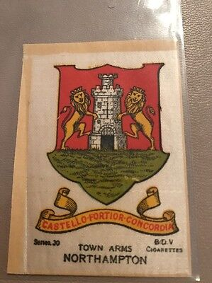 silk BDV Phillips Town And City Arms Small Size  Northampton