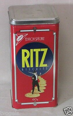 Vintage 1990 Christie's Ritz Crackers Special Edition Biscuit Tin Fred Astaire
