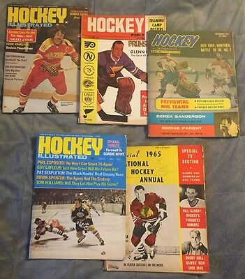 20 Collectible Sports Programs and Magazines from the 50's, 60's & 70's