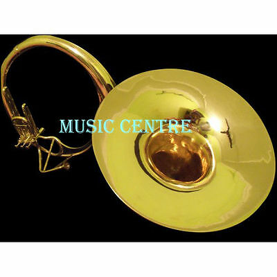 Sousaphone Bell Size 22 Inch Brass Polish Made Of Pure Brass With Free Case Box