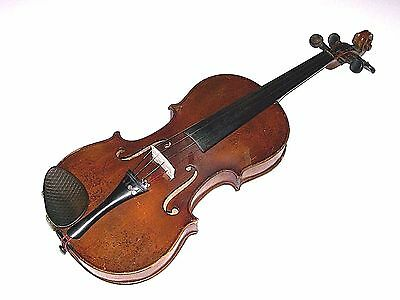 Vintage Stradivarius Copy Violin Made in Germany #BP12917 Free Shipping USA