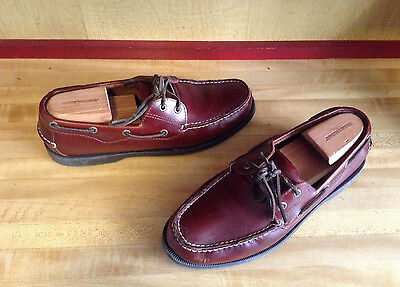 Men's DOCKERS Shoes Brown Leather Size 10 M