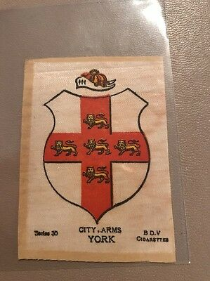 silk BDV Phillips Town And City Arms Small Size  York