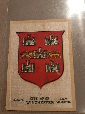 silk BDV Phillips Town And City Arms Small Size  Winchester