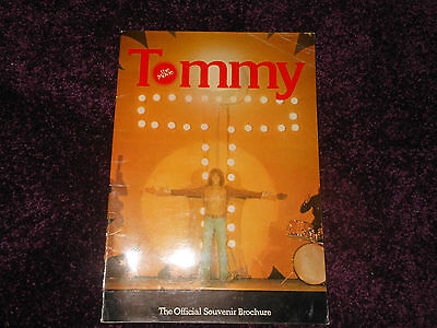 The Who Tommy the movie the official souvenir brochure programme