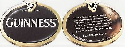 Guinness Beer Mat Coaster - New Unused