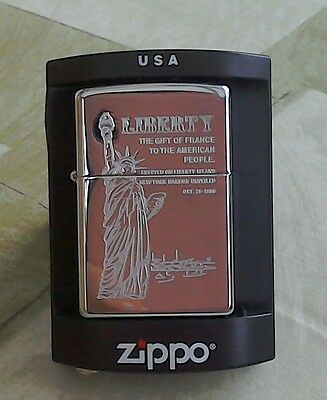 Zippo Lighter - Statue of Liberty -  Brand New and Sealed in Box - Ideal Gift