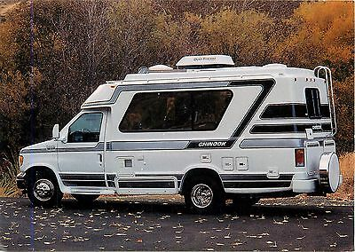 Chinook RV Motor Home Van Conversion Trail Wagons Yakima Washington Postcard