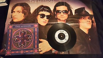 "The Mission Severina 7"" single with poster sleeve"