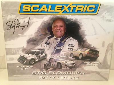 Scalextric C3372A Stig Blomqvist 3 Car Set Limited Edition 1 of 3000
