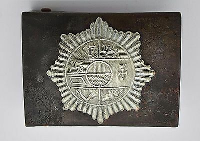 WW1 German Uniform Mecklenburg Uniform Belt Buckle