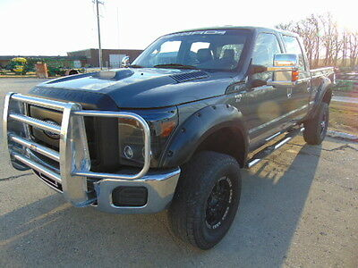 2011 Ford F-250 XL CUSTOM 2011 F250 CREW CAB 4X4 LEATHER LIFTED LOADED NO RESERVE AUCTION