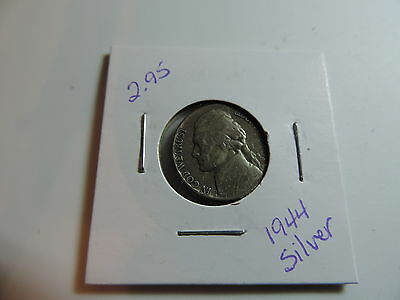 1944 US American Nickel coin A583