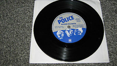 The Police - Message In A Bottle - very rare miss-pressing (6 Pack, black vinyl)