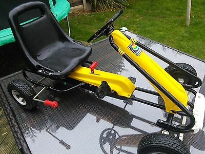 kettler Go Kart with gears and brake