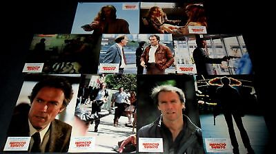 1983 Sudden Impact ORIGINAL LOBBY CARD SET Clint Eastwood DIRTY HARRY