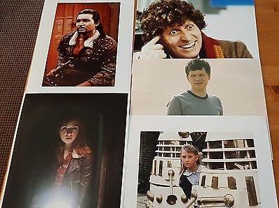 Dr Who Job Lot of 10 Assorted Photographs (All 10 x 8) ONLY £10 Lot 2