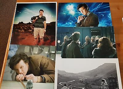 Dr Who Job Lot of 10 Assorted Photographs (All 10 x 8) ONLY £10 Lot 4