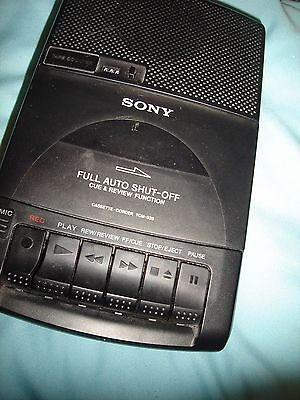 Vintage Sony Cassette Player--Mains Or Battery- Working Order