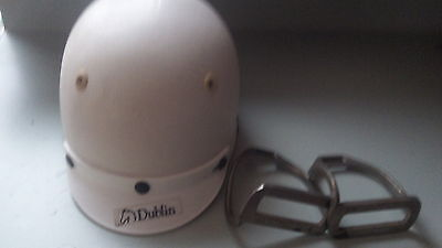 Dublin cool rider horse riding helmet, size 60, AS/NZS 3838 and WYS stirups
