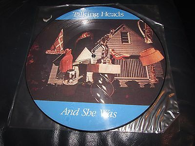 Talking Heads - And She Was - PICTURE DISC