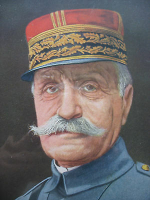 PF Collier Prints The FOUR FAMOUS GENERALS SERIES Only 3 1918 Color Prints