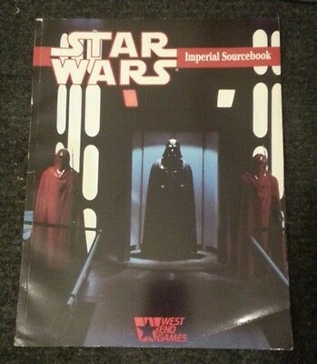 Star Wars Role Playing Game Imperial Sourcebook 1989