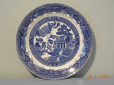 """Willow 9"""" Plate By Wedgwood"""