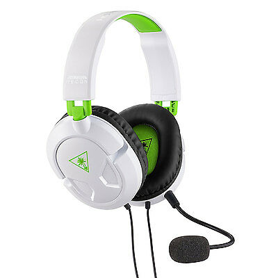 TURTLE BEACH RECON 50X Stéréo Gaming Casque pour Xbox One S PS4 Micro NEUF