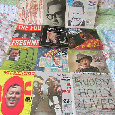 12 x LPs OF VARIOUS ARTISTS