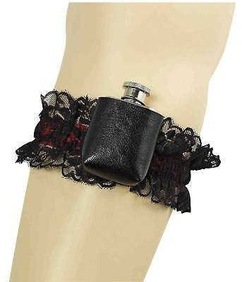 FANCY DRESS Garter With Hip Flask