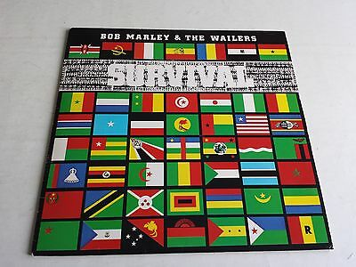 Bob Marley & The Wailers Survival Lp 1979 Island Records Ilps9542 1St Uk