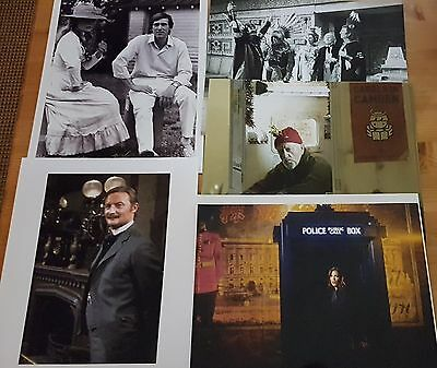 Dr Who Job Lot of 10 Assorted Photographs (All 10 x 8) ONLY £10 Lot 12