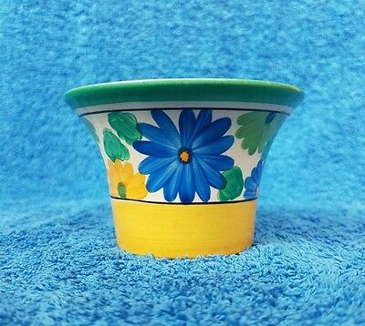 Clarice Cliff Daffodil Sugar Bowl In Sungay - Perfect