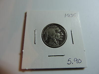 1935 US American Nickel coin A494