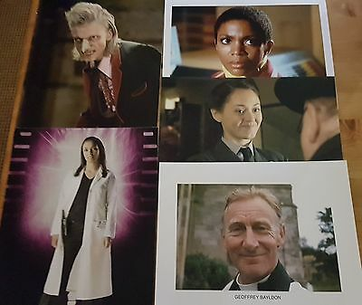 Dr Who Job Lot of 10 Assorted Photographs (All 10 x 8) ONLY £10 Lot 15