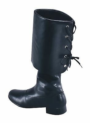 FANCY DRESS Pirate Buccaneer Boots (S)