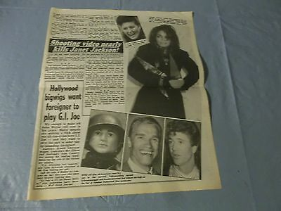 Janet Jackson  clipping #ZB
