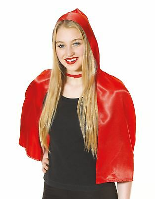 FANCY DRESS Red Riding Hood Cape Accessory