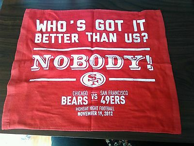 San Francisco 49Ers Hand / Rally Towel