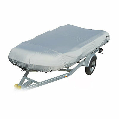Inflatable dinghy /fishing/dingy/boat cover 5 sizes 8ft to 13ft  COLOUR grey