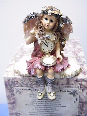 Boyds Shelf Sitter REMEMBRANCE Y. ANGELFLYTE Time Flies-Enjoy The Moments MIB