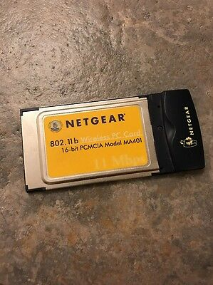 Netgear 802.11b Wireless PC Card
