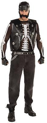 FANCY DRESS Halloween Costume Skeleton Shirt Mesh (Unisex)