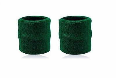 Two Unisex Wristbands Sweatbands Sports Badminton Gym Ultra Comfy and Durable